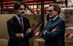 Conversant amb el President Mas. Fotògraf: Sergi García i Lorente
